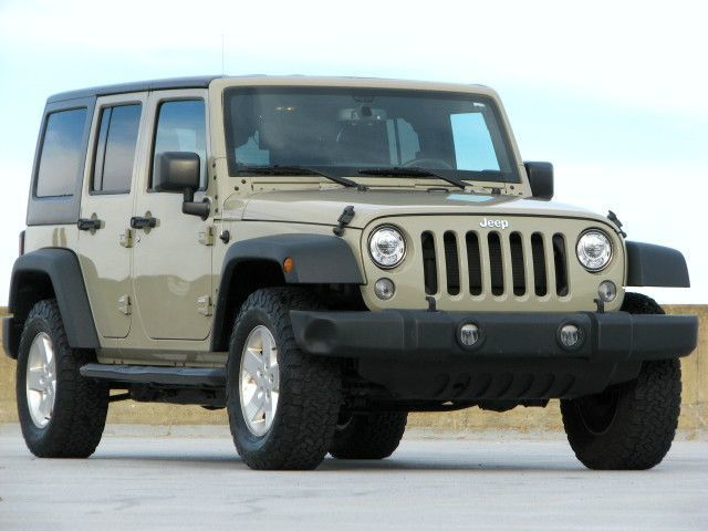 2017 Jeep Wrangler Unlimited Sport Automatic