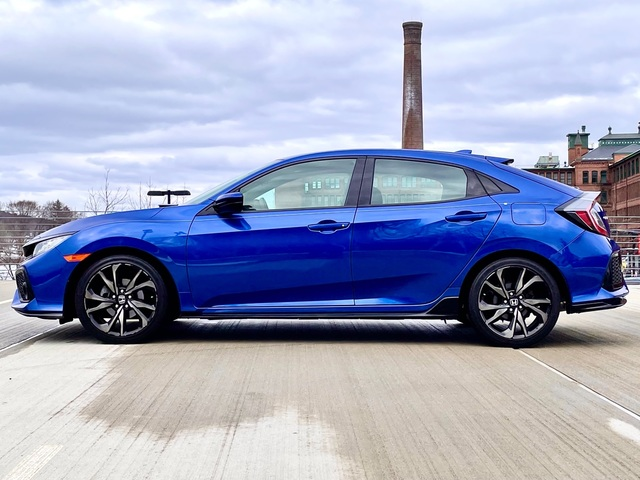2017 Honda Civic Hatchback Sport